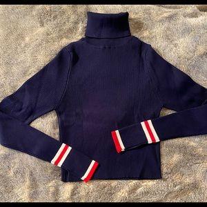 Zara Tipped turtleneck sweater - Small